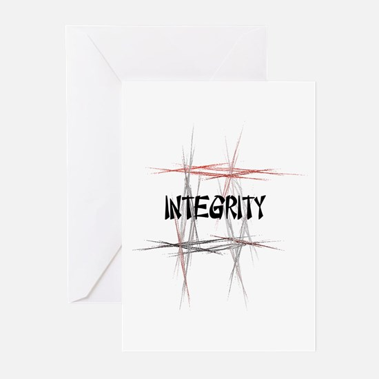 Martial Arts Integrity Greeting Cards (Pk of 10)