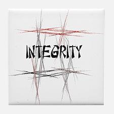 Martial Arts Integrity Tile Coaster