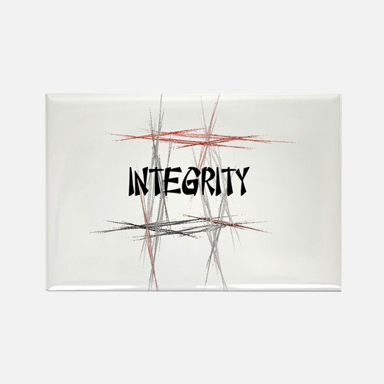 Martial Arts Integrity Rectangle Magnet