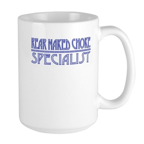 R.N.Choke Specialist - Blue Large Mug