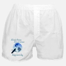 Think Green Think Clean Boxer Shorts
