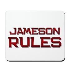 jameson rules Mousepad