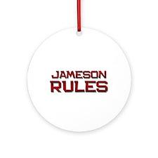 jameson rules Ornament (Round)