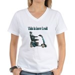 This Is How I Roll Women's V-Neck T-Shirt