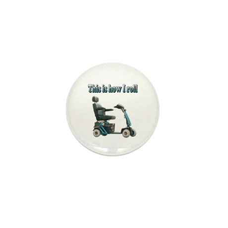 This Is How I Roll Mini Button (100 pack)