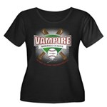 Twilight Vampire Baseball Women's Plus Size Scoop