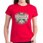 Twilight Vampire Baseball Women's Dark T-Shirt