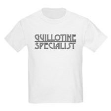 Guillotine Specialist - Black T-Shirt