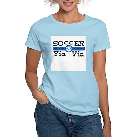 Soccer Yia Yia Women's Light T-Shirt