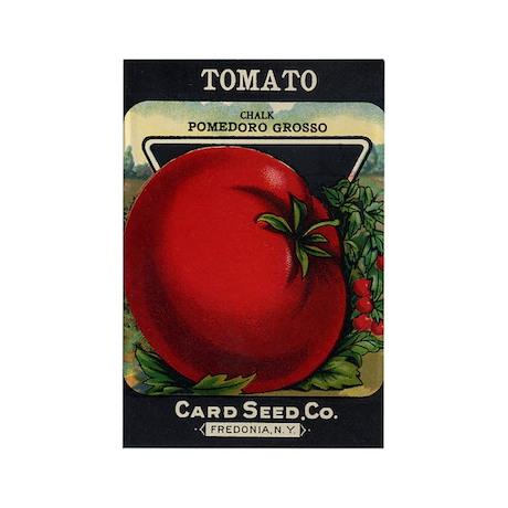 Tomato 1 Pomedoro Grosso Rectangle Magnet