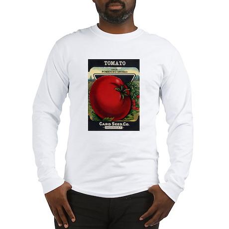 Tomato 1 Pomedoro Grosso Long Sleeve T-Shirt