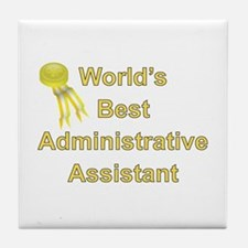 Admin. Professionals Day Tile Coaster