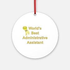 Admin. Professionals Day Ornament (Round)