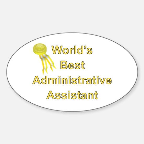 Admin. Professionals Day Oval Decal