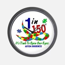 1 In 150 Time To Open Our Eyes Wall Clock