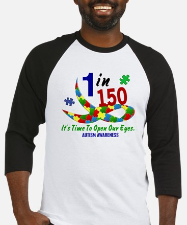 1 In 150 Time To Open Our Eyes Baseball Jersey