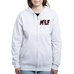 MILF Zip Hoodie