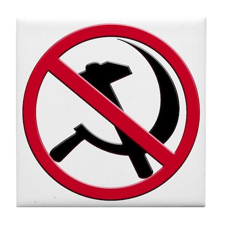 Anti-Communism Tile Coaster