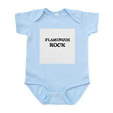 FLAMINGOS ROCK Infant Creeper