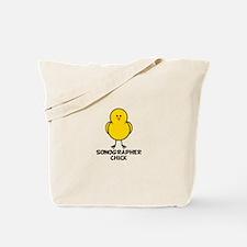 Sonographer Chick Tote Bag