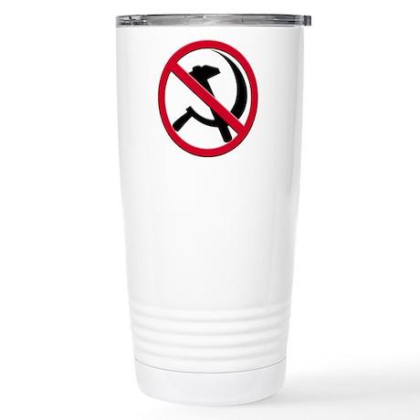 Anti-Communism Stainless Steel Travel Mug