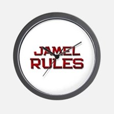 jamel rules Wall Clock
