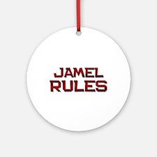 jamel rules Ornament (Round)