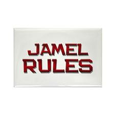 jamel rules Rectangle Magnet