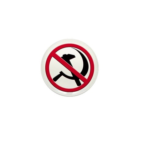 Anti-Communism Mini Button (100 pack)