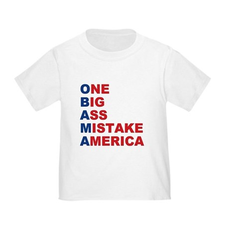 Anti Barack Obama Toddler T-Shirt