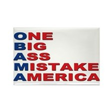 Anti Barack Obama Rectangle Magnet
