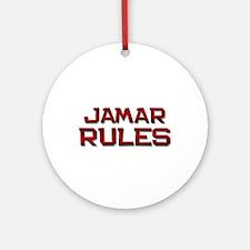 jamar rules Ornament (Round)