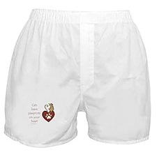 Cat Pawprints Boxer Shorts