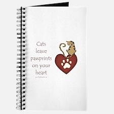 Cat Pawprints Journal