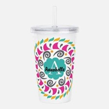 Personalized Monogrammed Gift Acrylic Double-wall