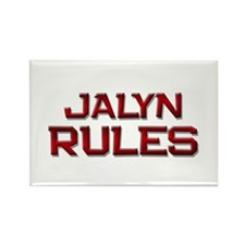 jalyn rules Rectangle Magnet