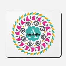 Personalized Monogrammed Gift Mousepad