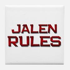 jalen rules Tile Coaster