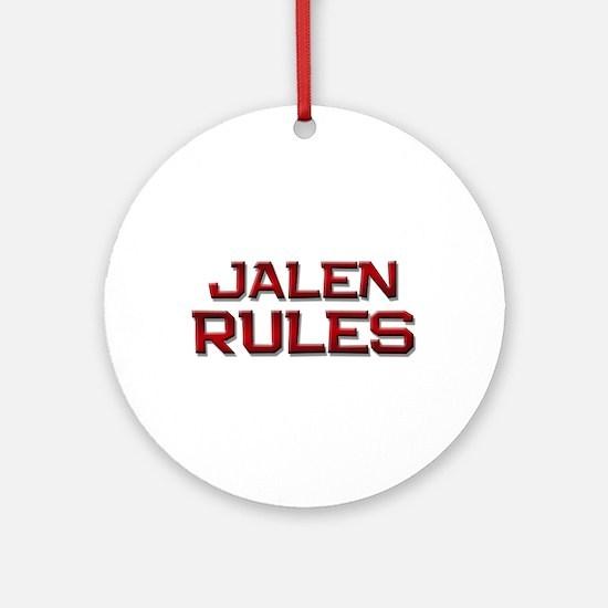 jalen rules Ornament (Round)