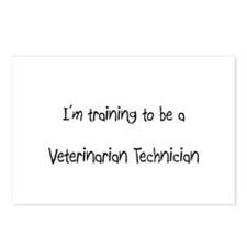 I'm training to be a Veterinarian Technician Postc