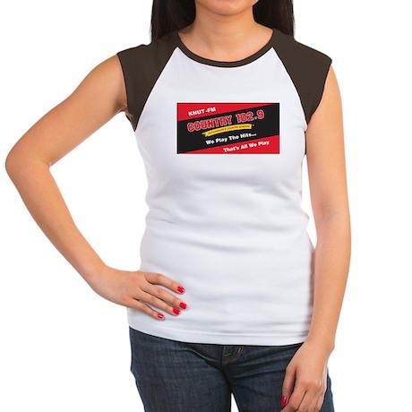 Country 102.9 Women's Cap Sleeve T-Shirt