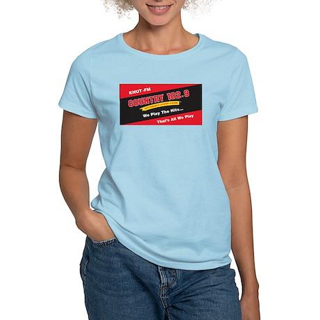 Country 102.9 Women's Pink T-Shirt