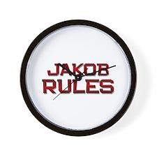 jakob rules Wall Clock