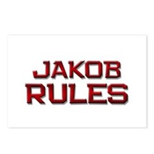 jakob rules Postcards (Package of 8)