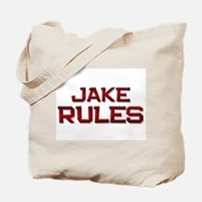 jake rules Tote Bag