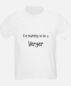 I'm training to be a Verger T-Shirt
