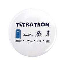 "Men's Tetrathon 3.5"" Button"