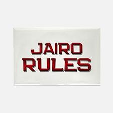 jairo rules Rectangle Magnet