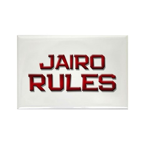 jairo rules Rectangle Magnet (10 pack)