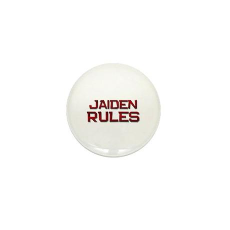 jaiden rules Mini Button